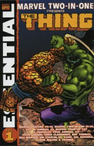 Essential Marvel Two-In-One Vol. 1