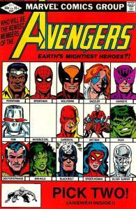 Avengers #221