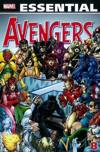 Image result for Essential Avengers vol. 5
